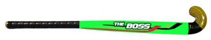 Green Indoor Hockey Sticks Wooden
